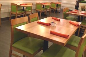 875P Custom Natural Chair / T23N Beechwood Natural