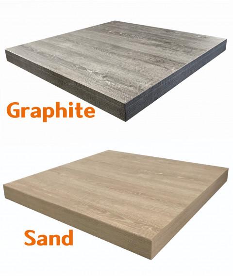 T52 Laminate Table Graphite / Sand